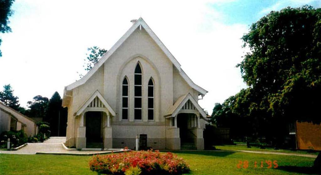 Chapel Gardens, Brisbane City Council Heritage Unit