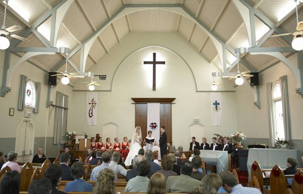 Sherwood Uniting Church Wedding Ceremony