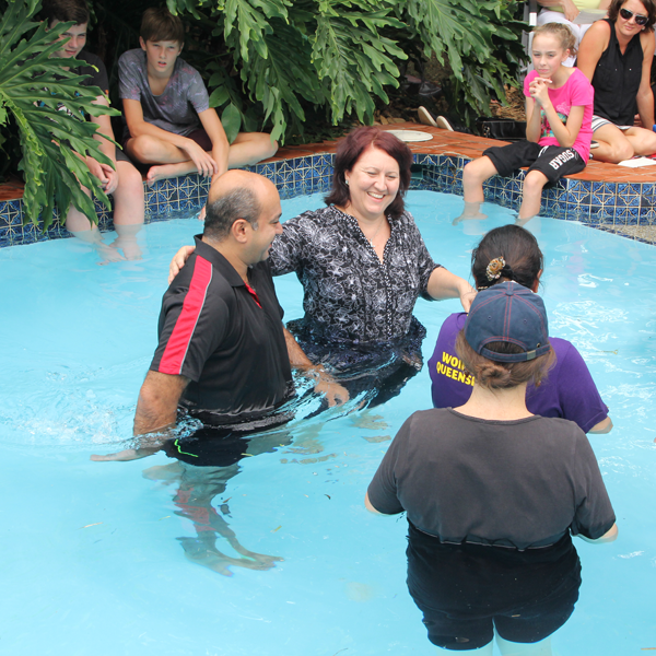 Sherwood Uniting Church Adult Baptism